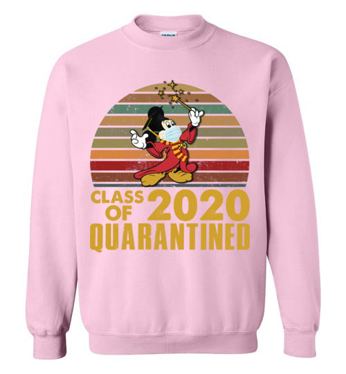 Mickey Class Of 2020 Quarantined sweatshirt