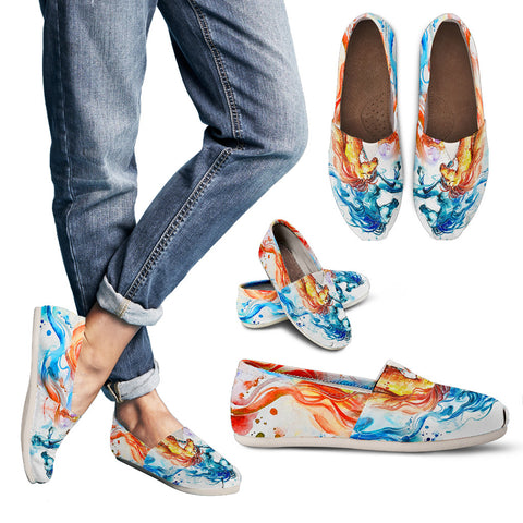 Horse Theme Women's Casual Shoes - WS1006