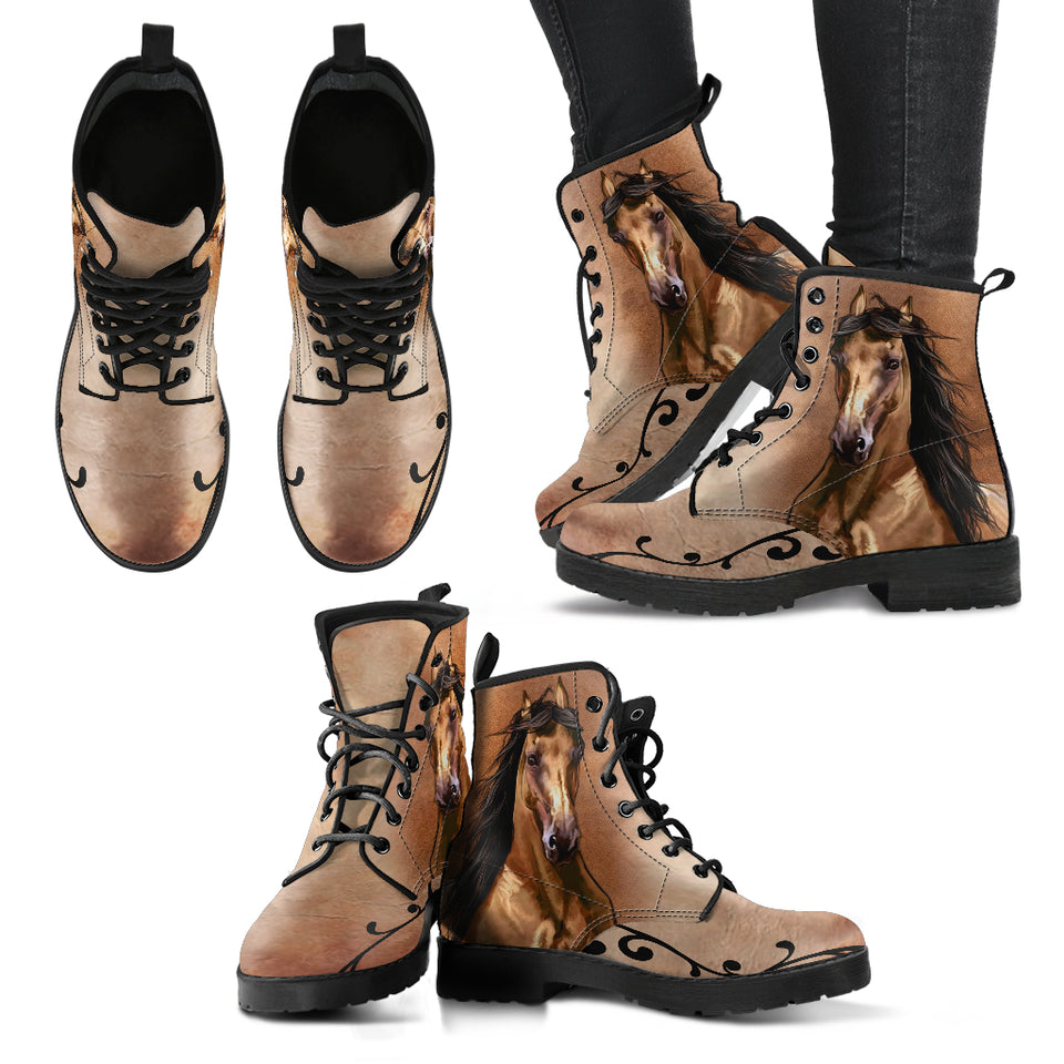 Brown Horse Version 2 Women's Boots - WS1012