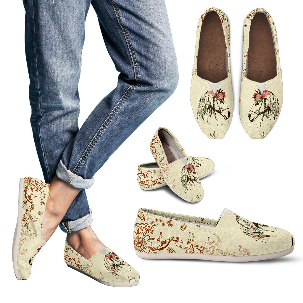 Horse  Women's Casual Shoes - WS1007