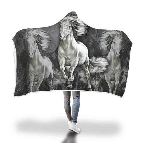 Horse Hooded Blanket HB1002