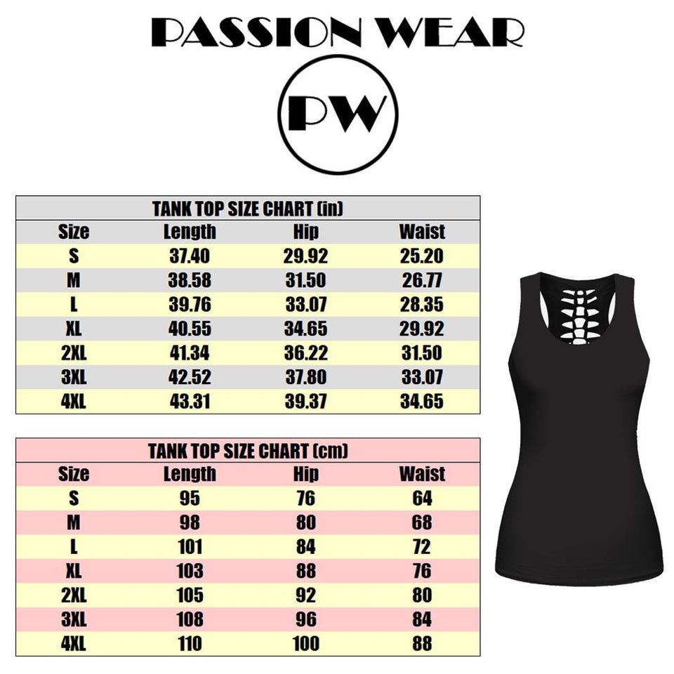 Woman Horse Tank Top And Legging Version 06