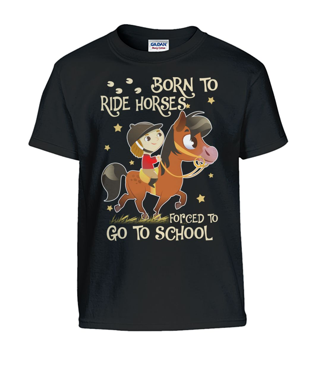 Born To Ride Horses.