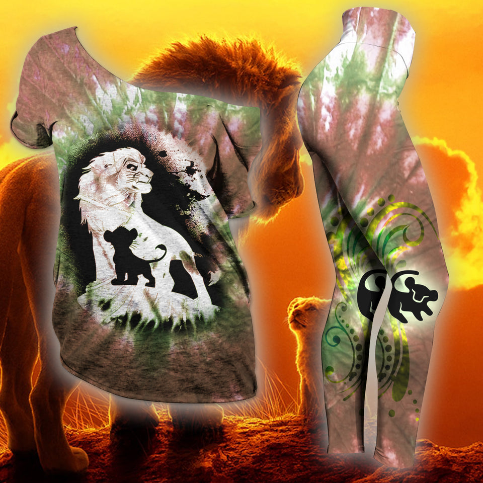 Lion King Slouchy  Tee And Legging Version 05