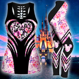 Disney Heart Tank Top And Legging Version 01