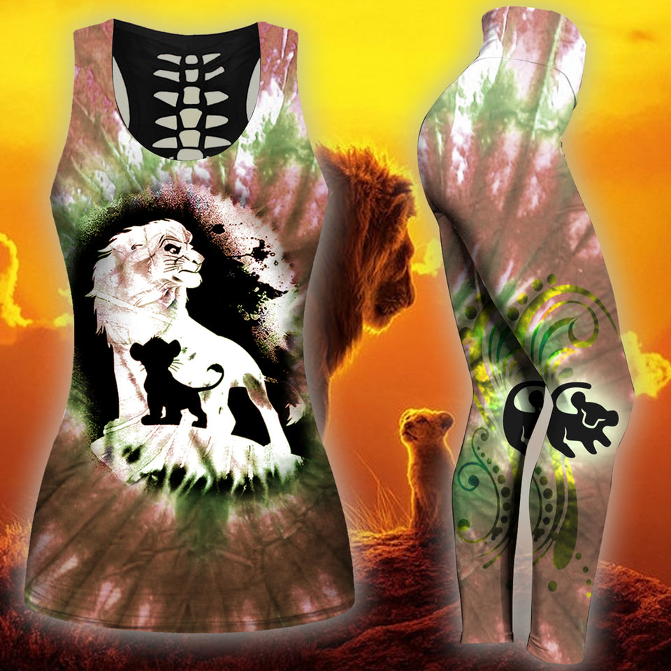 Lion King Tank Top And Legging Version 05