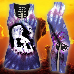 Lion King Tank Top And Legging Version 06