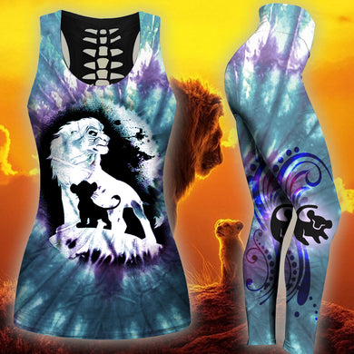 Lion King Tank Top And Legging Version 07