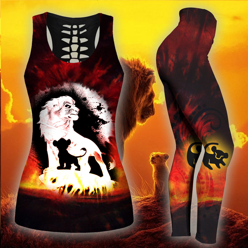 Lion Tank Top And Legging Version 11