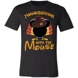 Thanksgiving with the Mouse tshirt