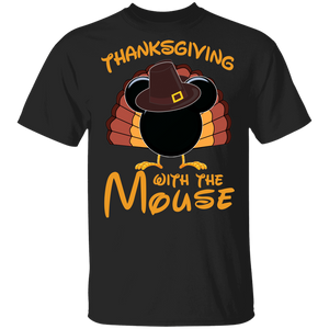 Thanksgiving with the Mouse youth tshirt