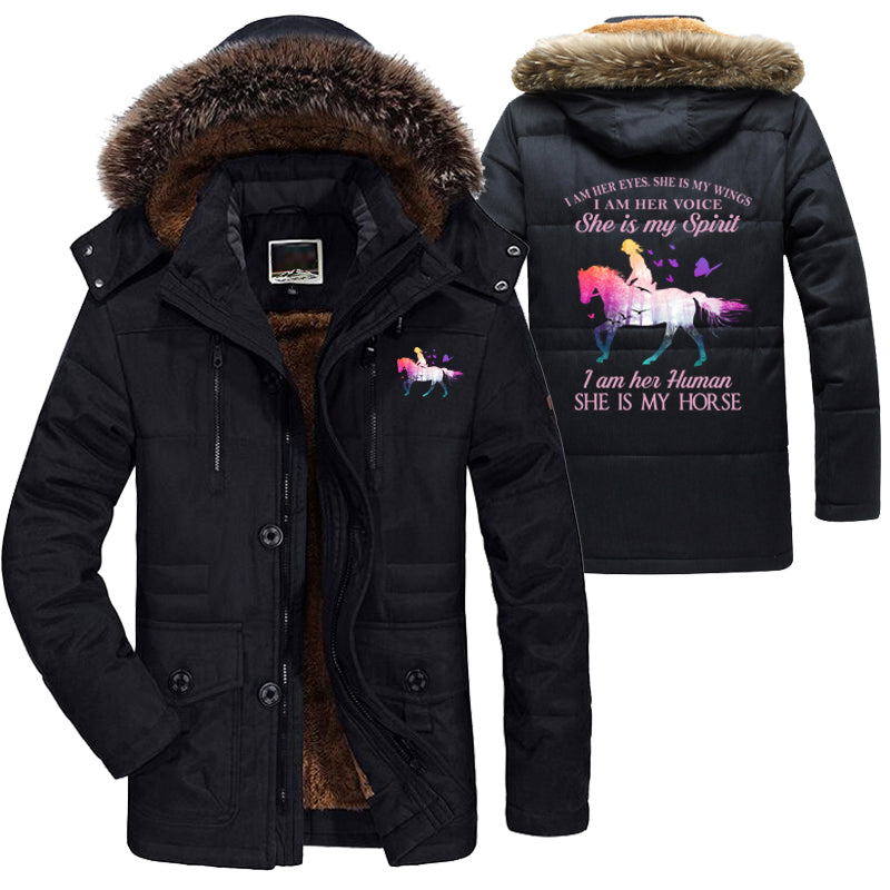 She Is My Horse Long Jacket