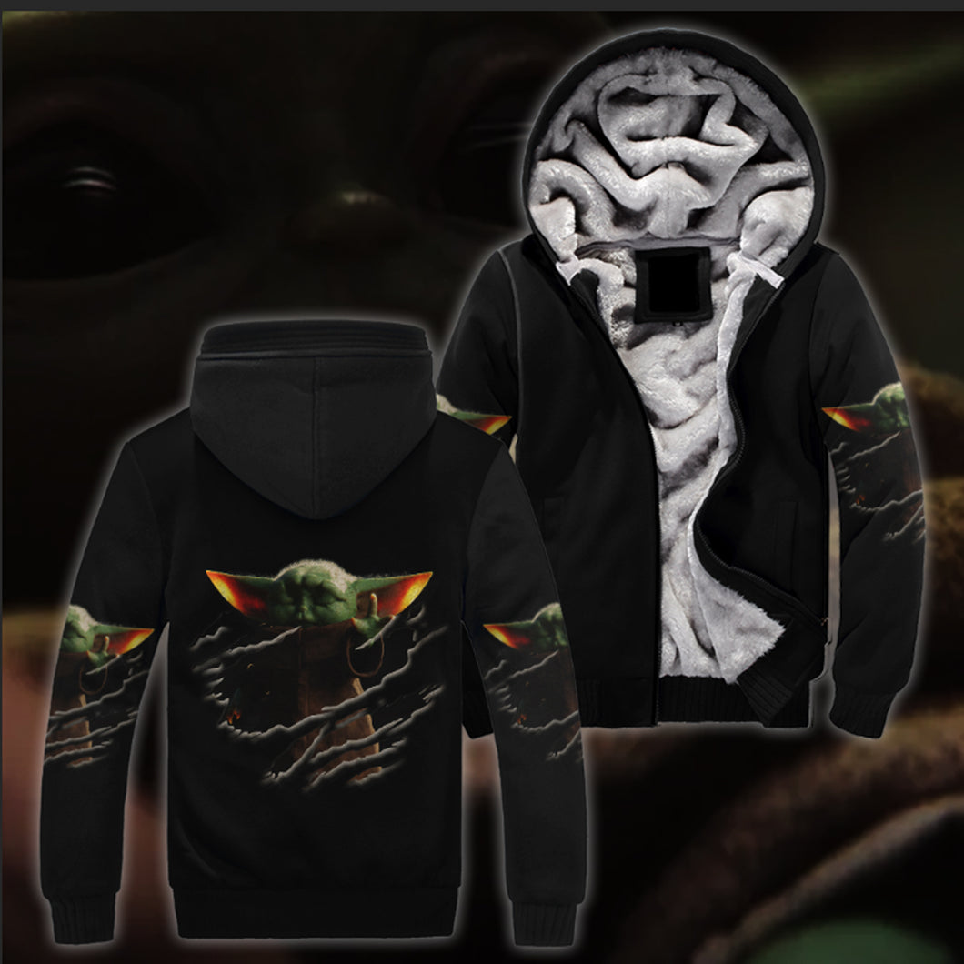 Baby Yoda All Over Print Jacket Version 02