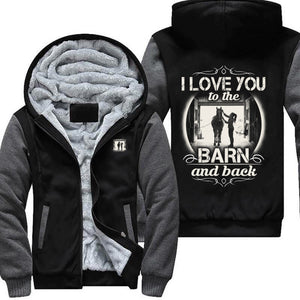 I Love My Horse To The Barn and Back Jacket