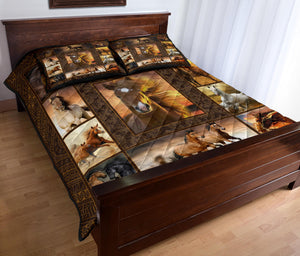 HORSE QUILT BED SET HQBS 03
