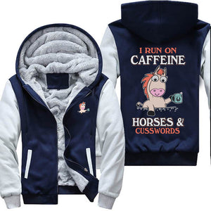 I Run On Caffeine Jacket