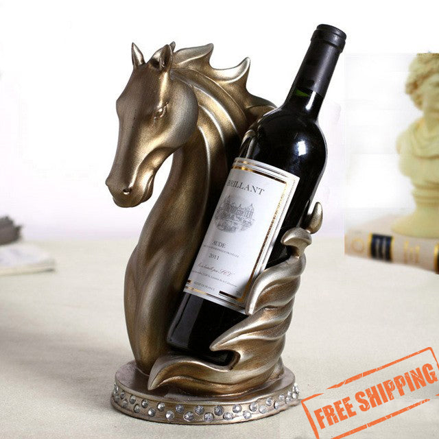 Artistic Horse Wine Holder
