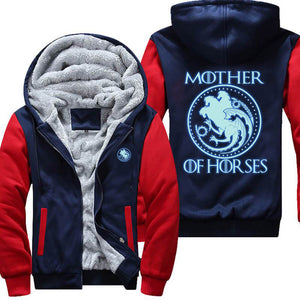 Mother Of Horses Glowing The Dark Jacket