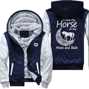 I Love My Horse To The Moon and Back Jacket
