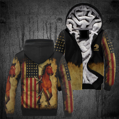 All Over Print Horse Jacket Version 02