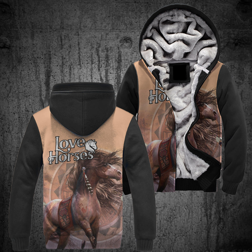 All Over Print Horse Jacket Version 03