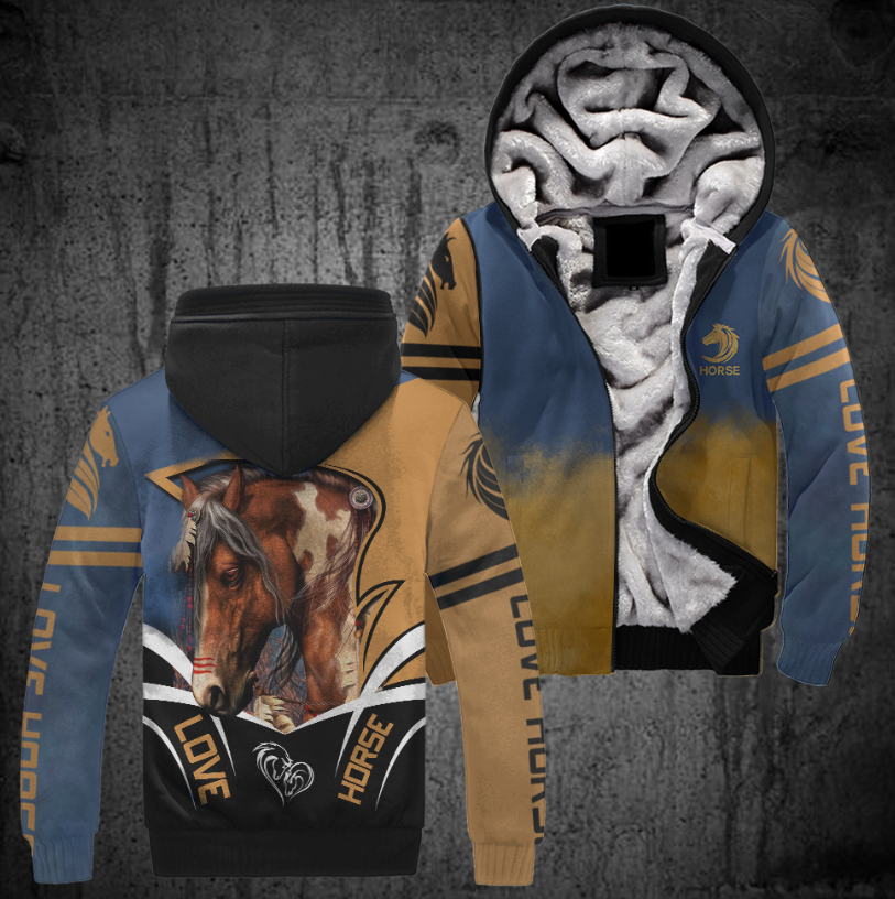 All Over Print Horse Jacket Version 01