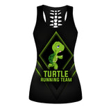 Turtle Running Team Tank Top And Legging Version 03