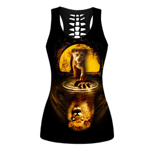 Lion King Tank Top And Legging Version 08