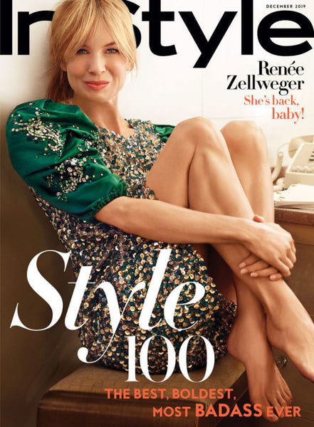 How does she get that glow? Renée Zellweger takes her skincare secret to InStyle!