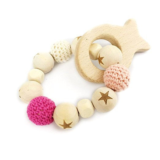Tweeter Teether Bracelet