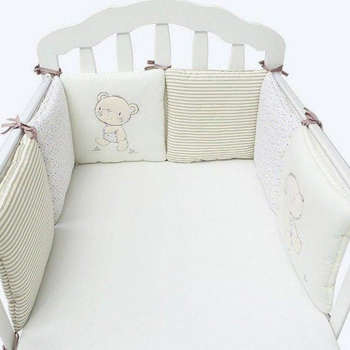 Buddy Bear Crib Bumper