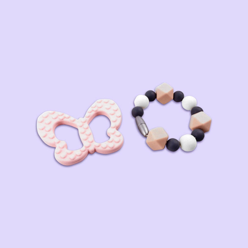 Tea and Grace Butterfly Teething Bracelet
