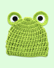 Frog Top Beanie