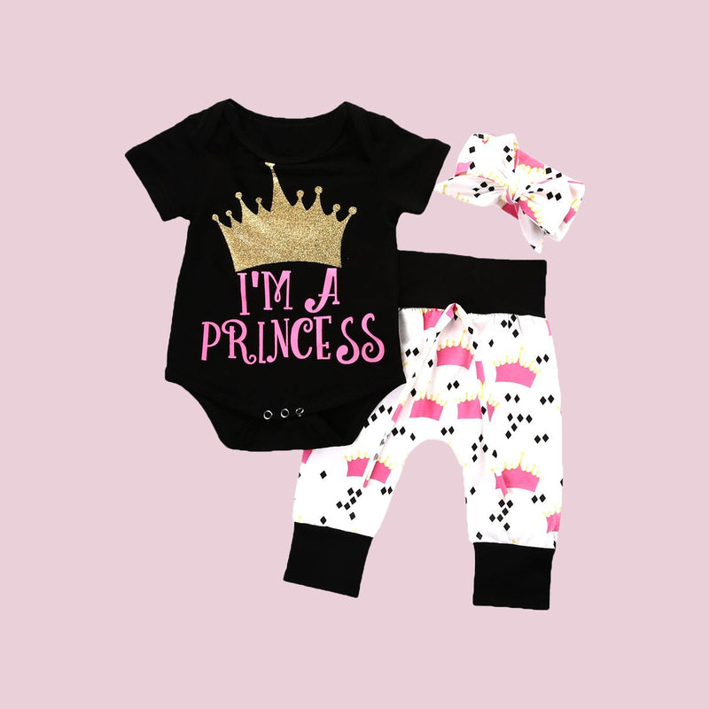 Lady Princess Onesie Set