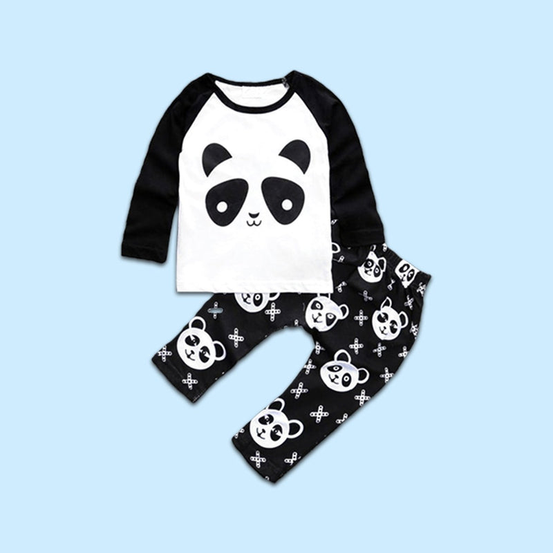 Cross Suit Panda Set