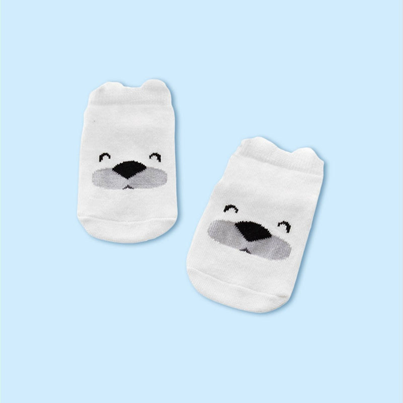 Polar Piggy Socks