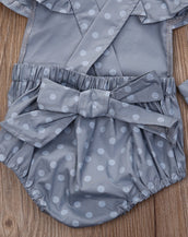 Polka Princess Romper 2pc Set