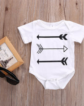 Fin and Arrow Onesie