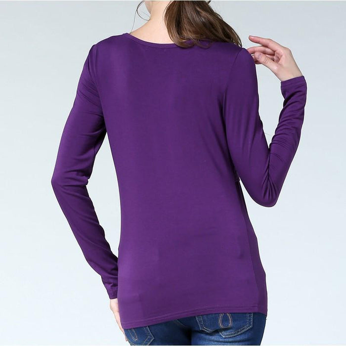 Dabzee Maternity Top- Purple