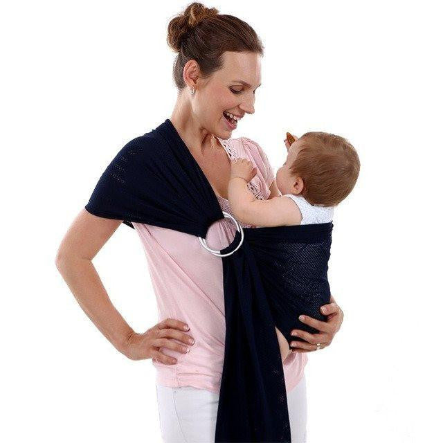Love Bug Baby Sling- Dark Navy