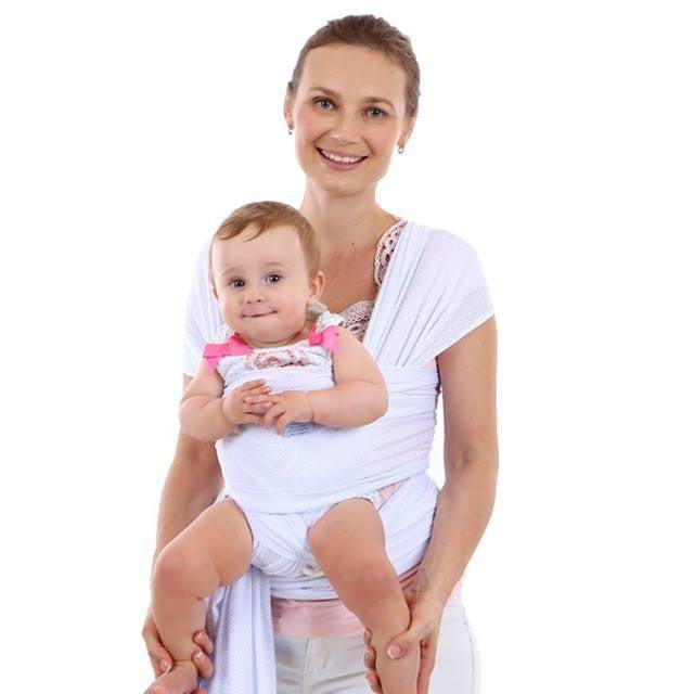Love Bug Baby Sling- White