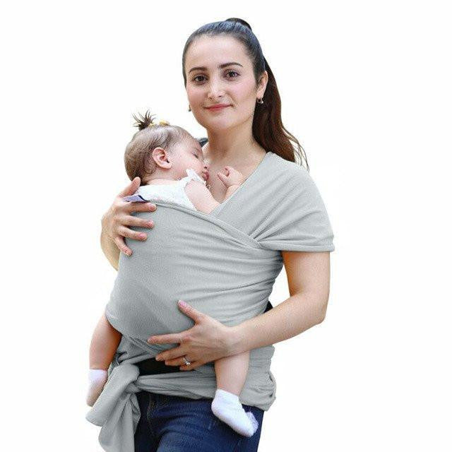 Love Bug Baby Sling- Grey