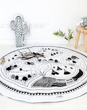 Round, About & Play Nursery Mat