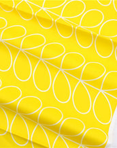 Fringie Crib Sheet in Yellow