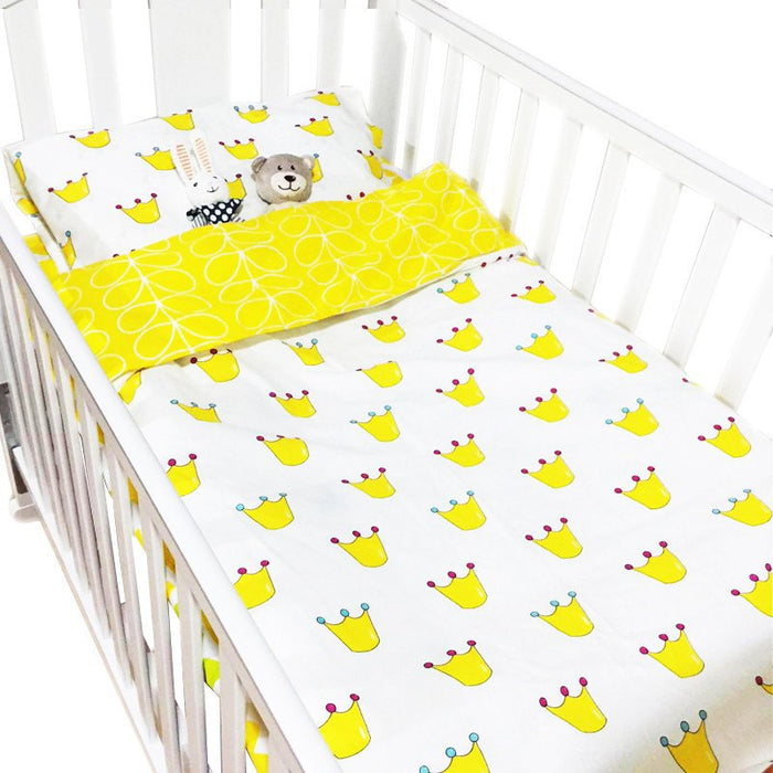 King Of The Crib Bedding Set