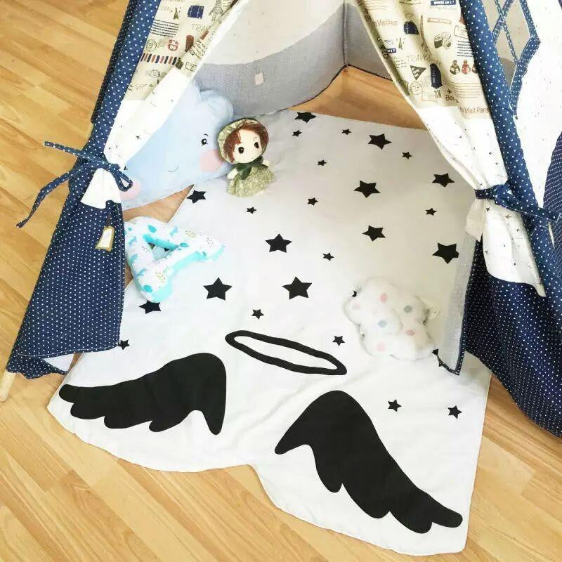 Touched By An Angel Nursery Blanket