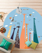 Story-Lyfe® Tall Necks Rug