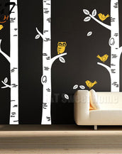 Forest Birch Wall Decal