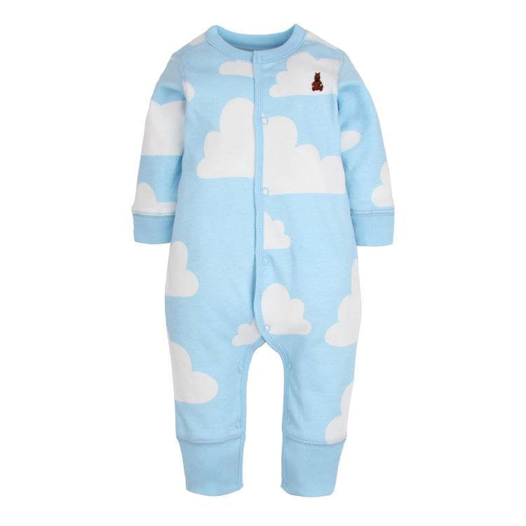 Puffy Clouds Sleeper Jumpsuit