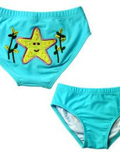 Under The Sea 3D Diaper-Kini